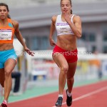 Atletiek NK 2012 100m Vrouwen: Eva Lubbers