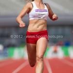 Atletiek NK 2012 100m Vrouwen: Dafne Schippers