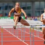 Atletiek NK 2012 100m Horden Vrouwen: Nadine Broersen