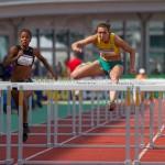 Atletiek NK 2012 100m Horden Vrouwen: Rosina Hodde