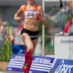 Atletiek NK 2012 800m Vrouwen: Marije Wever