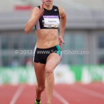 Atletiek NK 2012 200m Vrouwen: Marit Dopheide