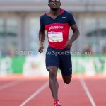 Atletiek NK 2012 200m Heren: Jerrel Feller