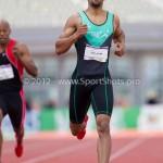 Atletiek NK 2012 200m Heren: Patrick van Luijk