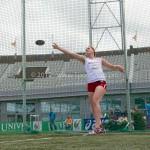 Atletiek NK 2012 Discuswerpen Vrouwen: Anna Goede