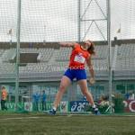 Atletiek NK 2012 Discuswerpen Vrouwen: Corinne Nugter