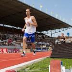 Atletiek NK 2012 1500m Heren: Robbin Pieterman