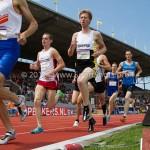 Atletiek NK 2012 1500m Heren: Leon Graumans