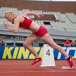 Atletiek NK 2012 400m Vrouwen: Amy Stolk