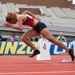 Atletiek NK 2012 400m Vrouwen: Madiea Ghafoor