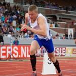 Atletiek NK 2012 400m Heren: Casper van Eyck