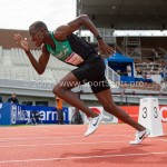 Atletiek NK 2012 400m Heren: Liemarvin Bonavencia