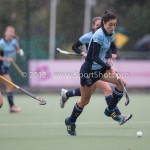 Hockey Hoofdklasse Dames 2012/2013 Laren - De Terriers: (L-R) Denise Admiraal of de Terriers, Naomi van As of Laren