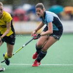 Hockey Hoofdklasse Dames 2012/2013 Laren - De Terriers:  (R) Maxime Kerstholt of Laren