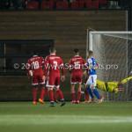 27-10-2015: Voetbal: Almere City FC v FC Den Bosch: Almere Agil Etemadi (Almere City FC) KNVB Beker 3de ronde 2015 / 2016