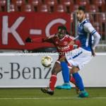 27-10-2015: Voetbal: Almere City FC v FC Den Bosch: Almere Mitchell Burgzorg (Almere City FC) KNVB Beker 3de ronde 2015 / 2016