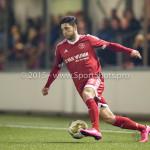 27-10-2015: Voetbal: Almere City FC v FC Den Bosch: Almere Paul Quasten  (Almere City FC) KNVB Beker 3de ronde 2015 / 2016