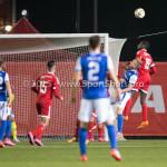 27-10-2015: Voetbal: Almere City FC v FC Den Bosch: Almere Enzio Boldewijn (Almere City FC) KNVB Beker 3de ronde 2015 / 2016
