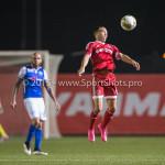 27-10-2015: Voetbal: Almere City FC v FC Den Bosch: Almere Gaston Salasiwa (Almere City FC) KNVB Beker 3de ronde 2015 / 2016