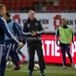 04-12-2015: Voetbal: Almere City FC v FC Den Bosch: Almere Marco Heering - Assistent trainer (Almere City FC) Jupiler League 2015 / 2016