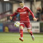 04-12-2015: Voetbal: Almere City FC v FC Den Bosch: Almere Norair Mamedov (Almere City FC) Jupiler League 2015 / 2016