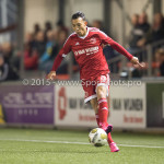 04-12-2015: Voetbal: Almere City FC v FC Den Bosch: Almere Gaston Salasiwa (Almere City FC) Jupiler League 2015 / 2016