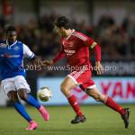 04-12-2015: Voetbal: Almere City FC v FC Den Bosch: Almere Jason Oost (Almere City FC) Jupiler League 2015 / 2016