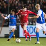 04-12-2015: Voetbal: Almere City FC v FC Den Bosch: Almere Pelle van Amersfoort (Almere City FC) Jupiler League 2015 / 2016