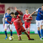 04-12-2015: Voetbal: Almere City FC v FC Den Bosch: Almere Jason Oost (Almere City FC)