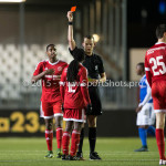 04-12-2015: Voetbal: Almere City FC v FC Den Bosch: Almere Mitchell Burgzorg (Almere City FC) Jupiler League 2015 / 2016