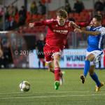 04-12-2015: Voetbal: Almere City FC v FC Den Bosch: Almere Javier Vet (Almere City FC) Jupiler League 2015 / 2016