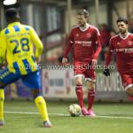 05-02-2016: Voetbal: Almere City FC v RKC Waalwijk: Almere (L-R) Jasper Waalkens (Almere City FC), Paul Quasten  (Almere City FC) Jupiler League 2015 / 2016
