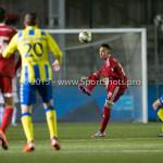 05-02-2016: Voetbal: Almere City FC v RKC Waalwijk: Almere (L-R) Gaston Salasiwa (Almere City FC), Steef Nieuwendaal (RKC Waalwijk) Jupiler League 2015 / 2016