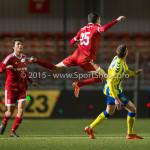 05-02-2016: Voetbal: Almere City FC v RKC Waalwijk: Almere Pelle van Amersfoort (Almere City FC) Jupiler League 2015 / 2016