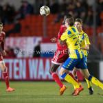 05-02-2016: Voetbal: Almere City FC v RKC Waalwijk: Almere (L-R) Enzio Boldewijn (Almere City FC), Ron Janzen (RKC Waalwijk) Jupiler League 2015 / 2016