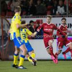 05-02-2016: Voetbal: Almere City FC v RKC Waalwijk: Almere Jasper Waalkens (Almere City FC) Jupiler League 2015 / 2016