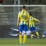 05-02-2016: Voetbal: Almere City FC v RKC Waalwijk: Almere (L-R) Agil Etemadi (Almere City FC), Ismaïl Yildirim (RKC Waalwijk) Jupiler League 2015 / 2016
