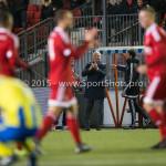 05-02-2016: Voetbal: Almere City FC v RKC Waalwijk: Almere Jack de Gier - Hoofdtrainer (Almere City FC) Jupiler League 2015 / 2016