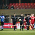 12-02-2016: Voetbal: Almere City FC v FC Eindhoven: Almere Ingmar Oostrom (Scheidsrechter) Jupiler League 2015 / 2016