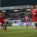 12-02-2016: Voetbal: Almere City FC v FC Eindhoven: Almere Pablo Rosario (Almere City FC) Jupiler League 2015 / 2016