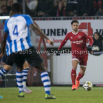 12-02-2016: Voetbal: Almere City FC v FC Eindhoven: Almere Paul Quasten  (Almere City FC) Jupiler League 2015 / 2016