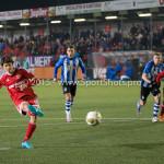 12-02-2016: Voetbal: Almere City FC v FC Eindhoven: Almere Jason Oost (Almere City FC) Jupiler League 2015 / 2016