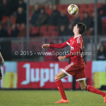 12-02-2016: Voetbal: Almere City FC v FC Eindhoven: Almere Pelle van Amersfoort (Almere City FC) Jupiler League 2015 / 2016