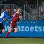 12-02-2016: Voetbal: Almere City FC v FC Eindhoven: Almere (L-R) Anthony van den Hurk (FC Eindhoven), Lars Nieuwpoort (Almere City FC), Agil Etemadi (Almere City FC), Kaj Ramsteijn (Almere City FC) Jupiler League 2015 / 2016