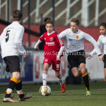 13-02-2016: Voetbal: Almere City FC O15 - Be Quick 1887 O15: Almere Yassine Oukhlidja (Almere City FC C1)