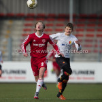 13-02-2016: Voetbal: Almere City FC O15 - Be Quick 1887 O15: Almere Denis Wooninck (Almere City FC C1)
