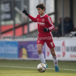 13-02-2016: Voetbal: Almere City FC O15 - Be Quick 1887 O15: Almere Thijmen Bierling (Almere City FC C1)