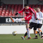 13-02-2016: Voetbal: Almere City FC O15 - Be Quick 1887 O15: Almere Jordy  Rullens (Almere City FC C1)