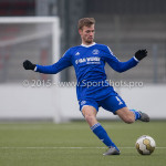 13-02-2016: Voetbal: Almere City FC O19 - Alphense Boys O19 2-0: Almere Adriaan Kruisheer (Almere City FC A1)