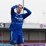 13-02-2016: Voetbal: Almere City FC O19 - Alphense Boys O19 2-0: Almere Theo  Visser (Almere City FC A1)
